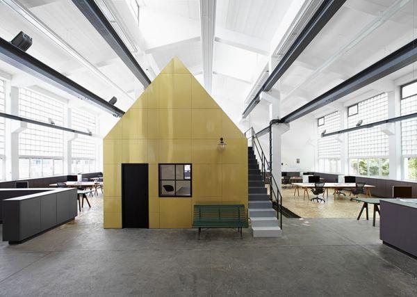Halle A - Loft by Designliga, via Behance