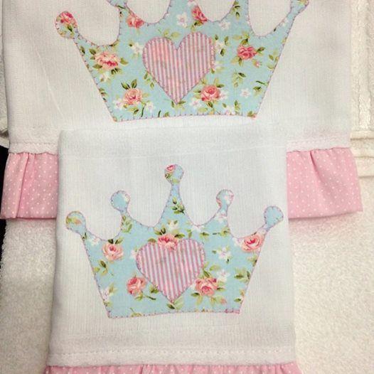 Resultado de imagen de aplique toallas bebes tutoriales for Apliques para toallas