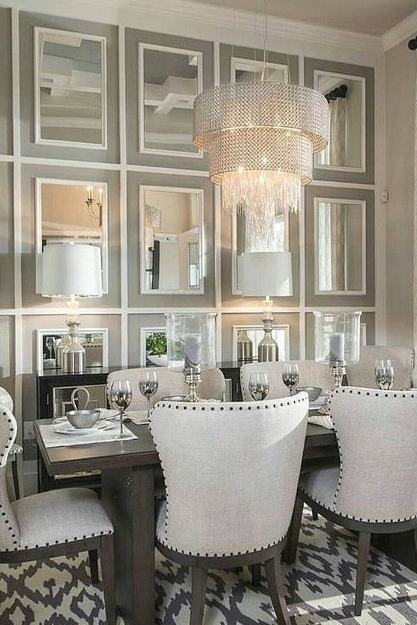 Living Room Design Mirror Table Furniture Interior Design Mirror Dining Room Luxury Dining Room Luxury Dining