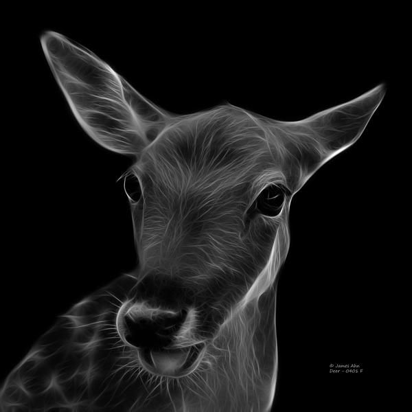 Greyscale Deer art by artist James Ahn. A beautiful deer sticking out it's tongue.. Very cute and playful. This deer has very soulful eyes.. Very electricfying art. Deer 0401 F   All rights reserved.   © Rateitart.com // All Rights Reserved.    #Deer #DeerArt #Bambi #Animal #Animals #AnimalLover #Cute #Cuteness #CutenessOverload #CuteAnimals #AnimalArt #PopArt #FractalAnimal #Decor #Pets #Wildlife #Art #Artwork #Artist #Arte #petstagram #JamesAhn #Rateitart