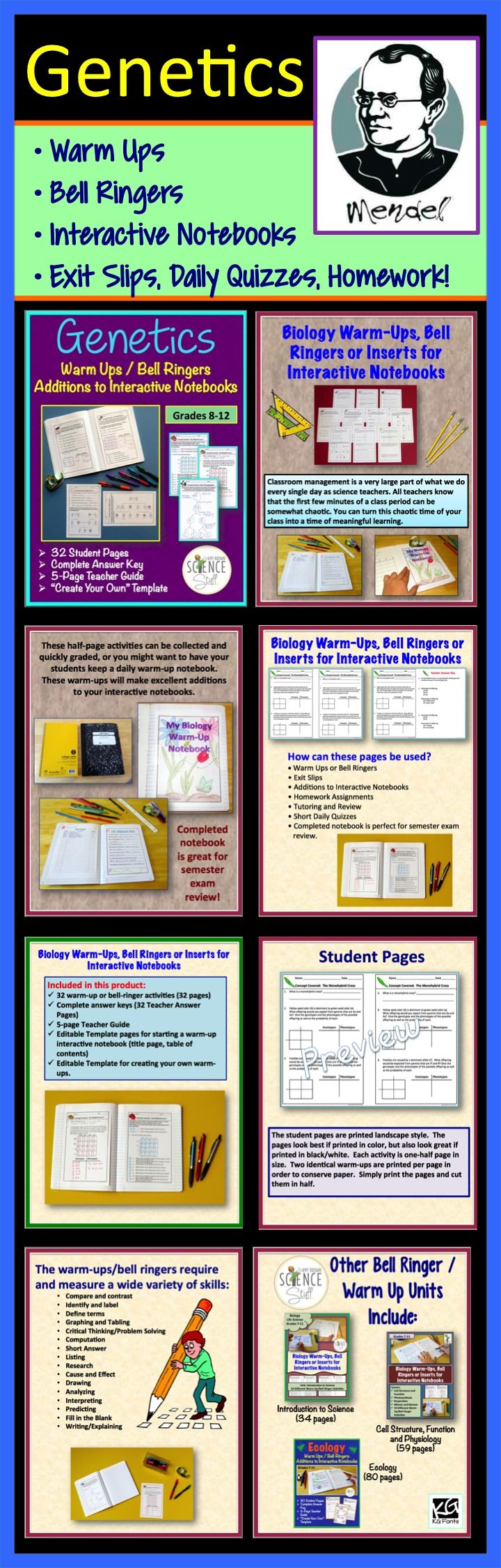 worksheet Genetics Basics Worksheet 1000 images about genetics lessons on pinterest videos student and squares