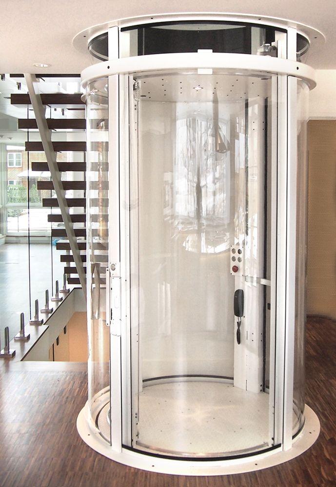 Visilift Round Glass Elevator Elevator Design Glass Elevator