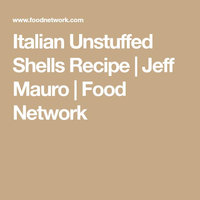 Photo of Italian Unstuffed Shells