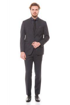 Karaca Antrasit Erkek Takim Elbise