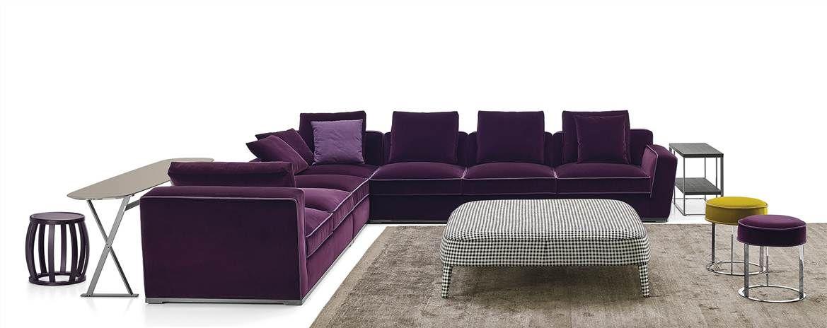 Antonio Citterio Design Apta Collection Mobilier Salon Pour Maxalto 1996 2015 Perspective Par Vanessa Millette Furniture Sectional Couch Couch