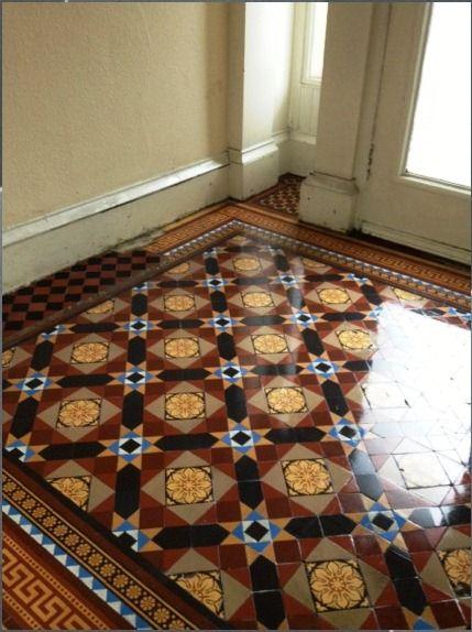 Victorian Tiled Floor In Glasgow After Floor Pinterest
