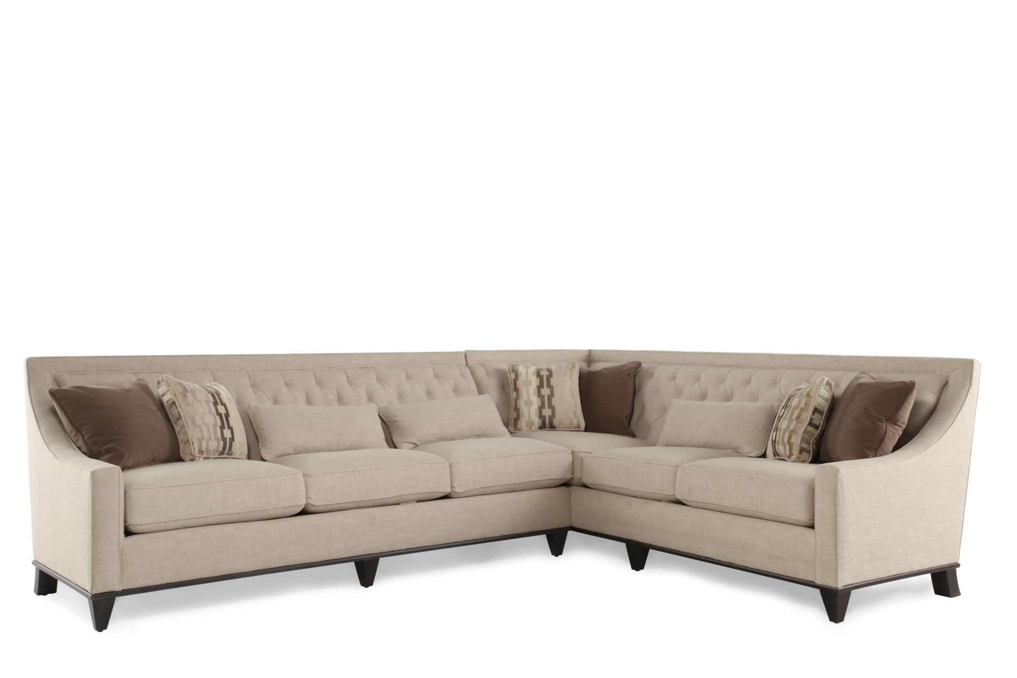 A.R.T. Furniture Wythe Coffee Bean Sectional   Mathis Brothers ...