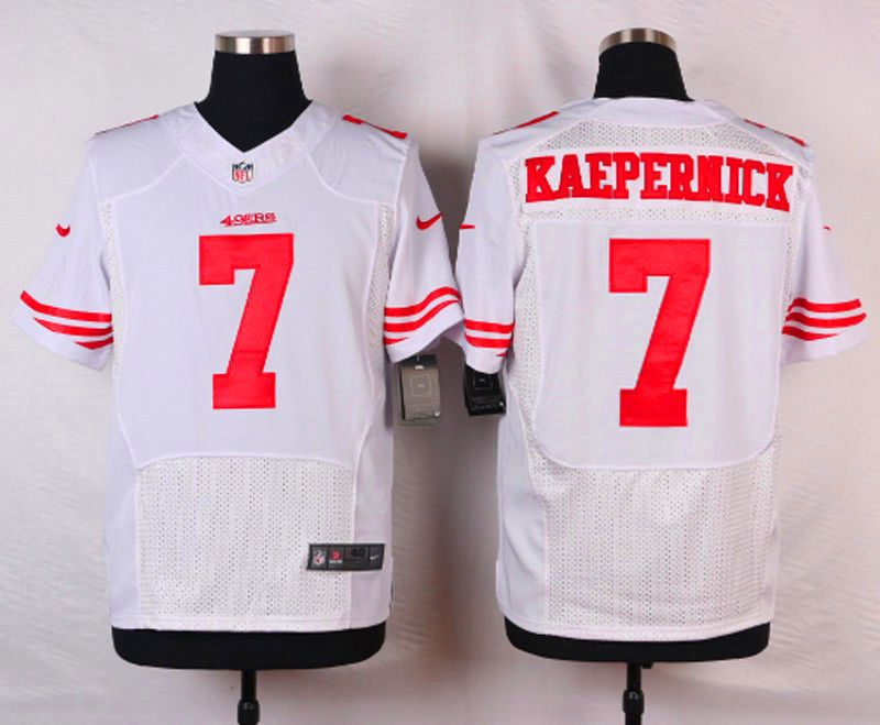 super popular 2a629 a63ad San Francisco 49ers Colin Kaepernick white jersey 56 mens ...