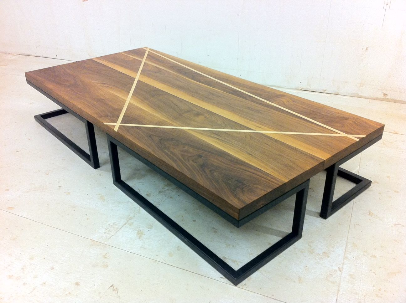 Bon From New8th, A Low Profile Coffee Table That Blends A Few Warm, Cozy  Materials