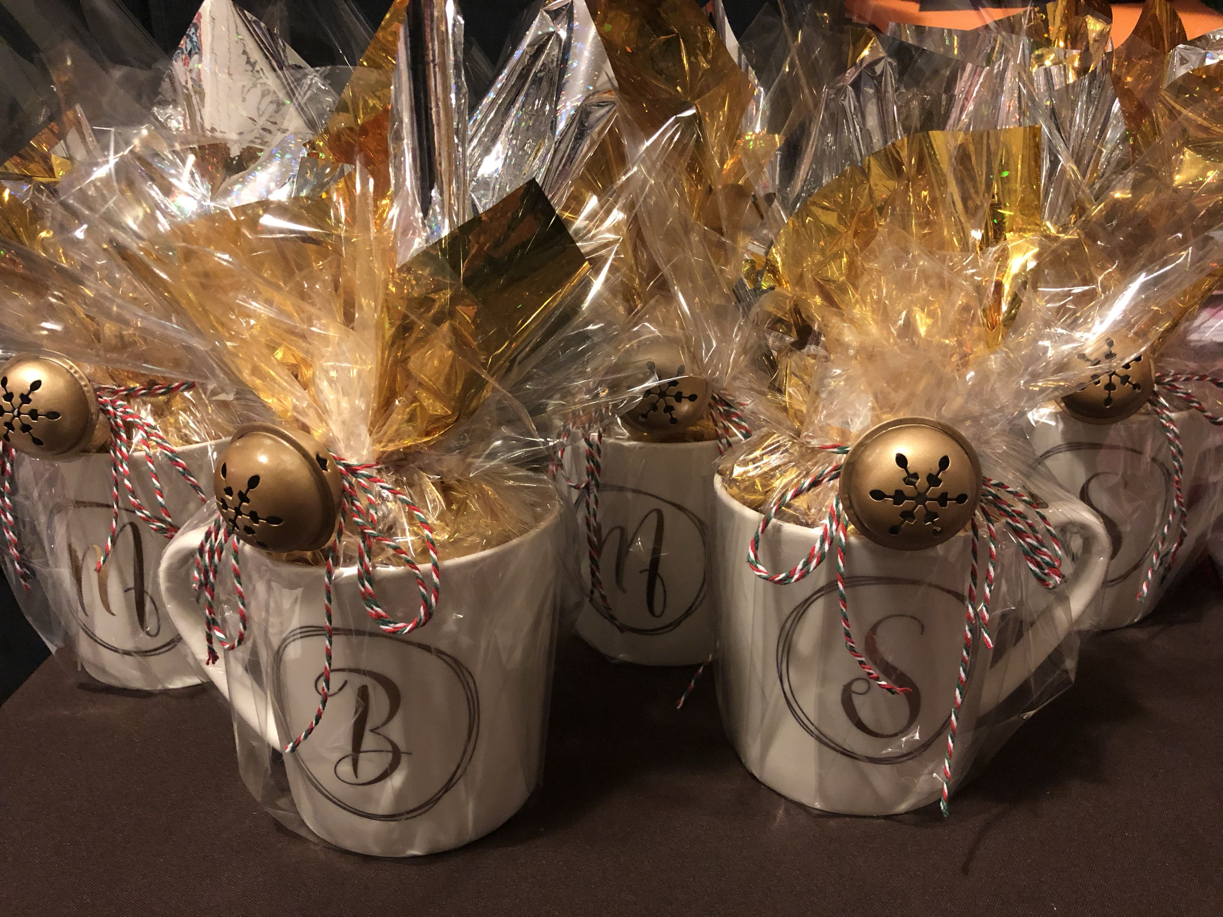 Wrapped monogram mugs gifts Coffee gifts card, Starbucks