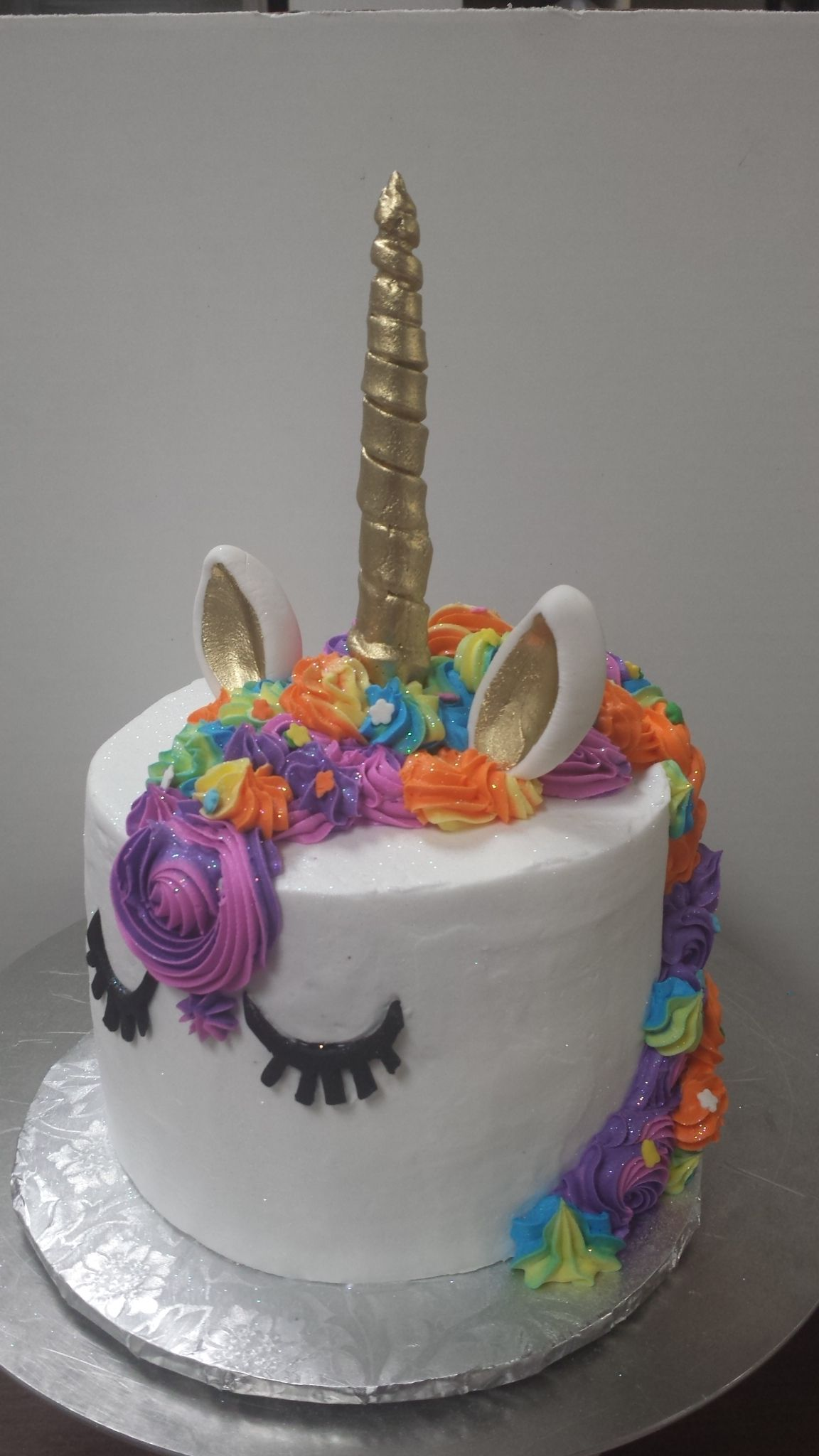 Unicorn Cake Makes Any Birthday A Rainbow Day Karens Cakes Kw At