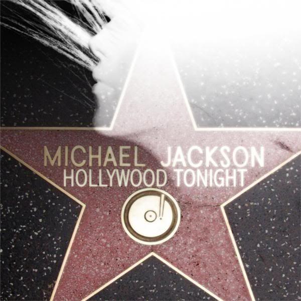 Michael Jackson – Hollywood Tonight (single cover art)