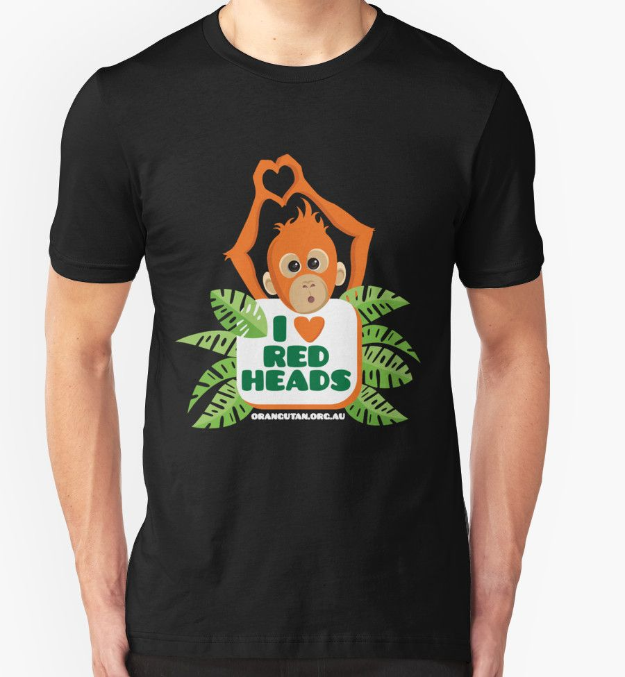 I Love Heart Orangutans T-Shirt