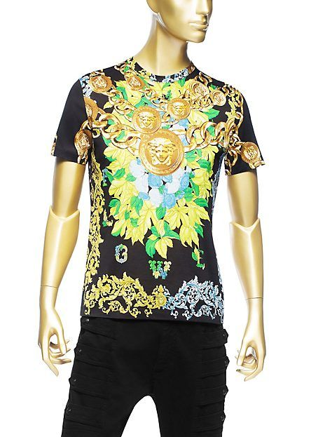 be2a9e34c0 Floral Medusa Printed T-Shirt   MEN'S FASHION & ACCESSORIES ...