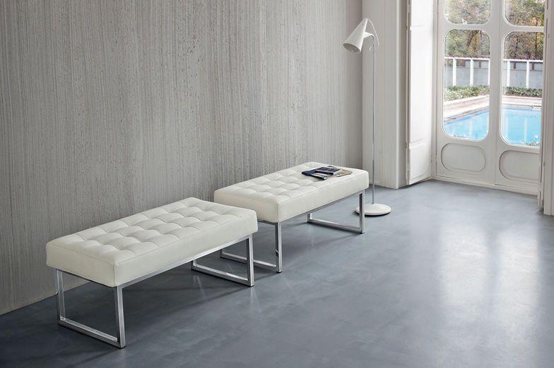 Banqueta moderna / de interior / blanca STYLE Dall\'Agnese Industria ...