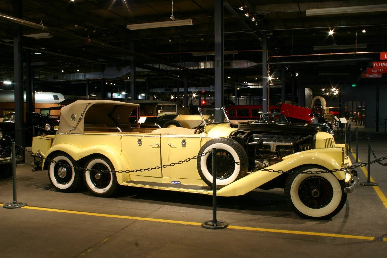 1923 Hispano-Suiza H6A 6-Wheel Victoria Town Car Forney Museum of ...