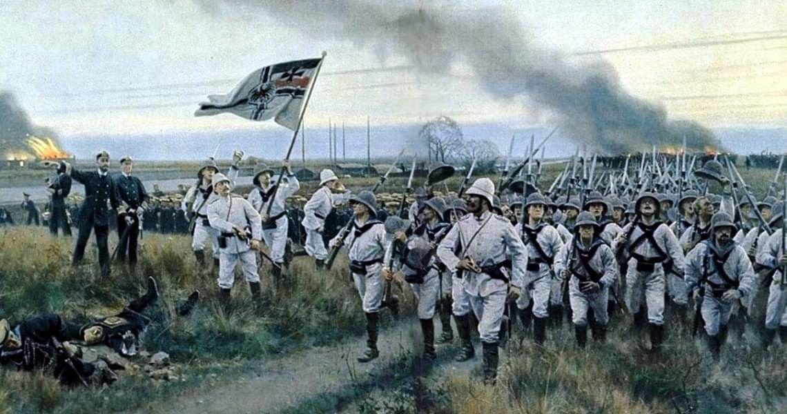 German marines, Boxer Rebellion