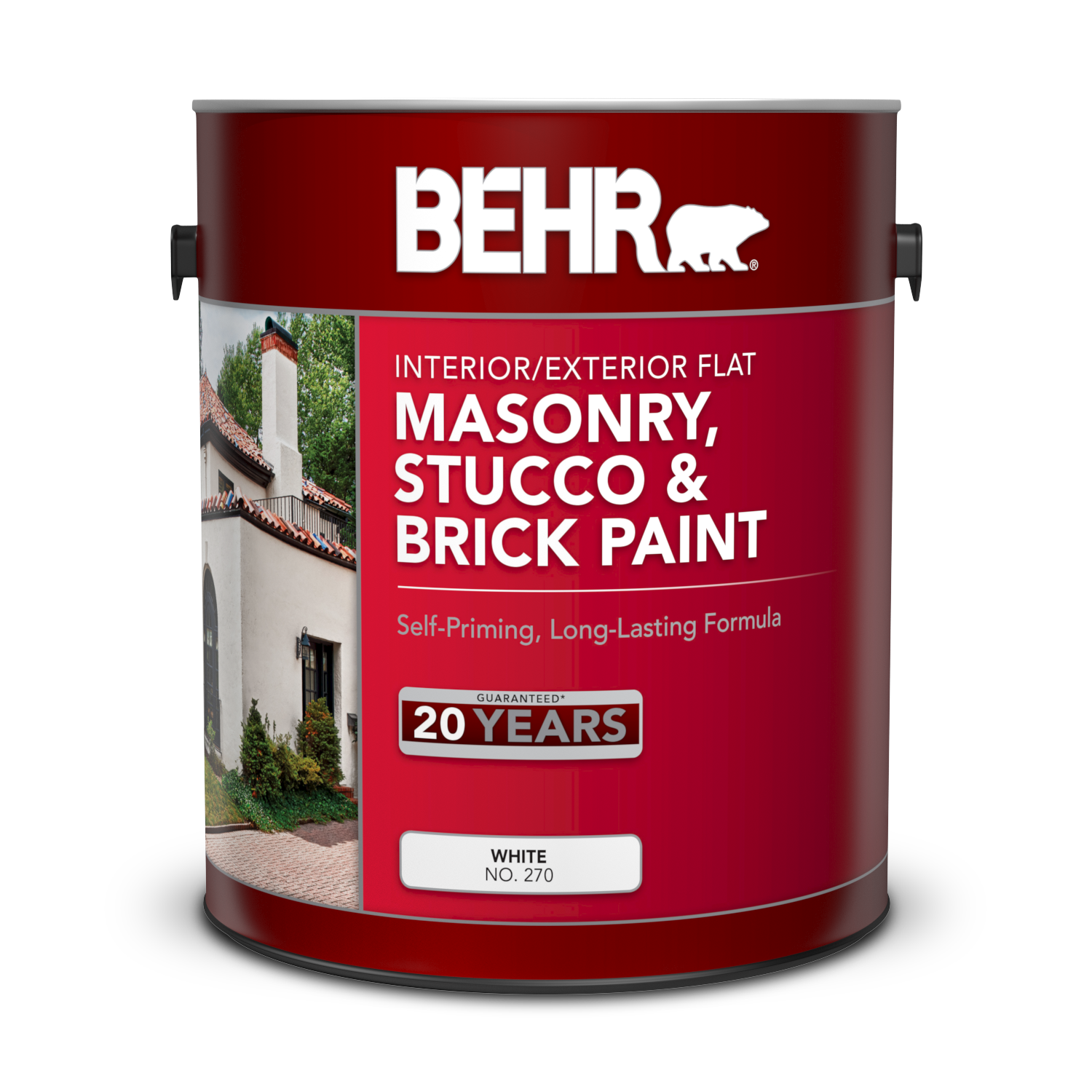 Interior / Exterior Masonry, Stucco, And Brick Flat Paint
