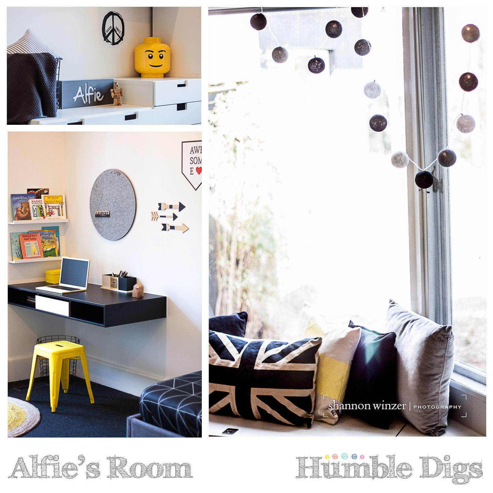 Kids Bedroom For Boys Alfies Room Kids Room Boys Room Tween Room Monochrome Room