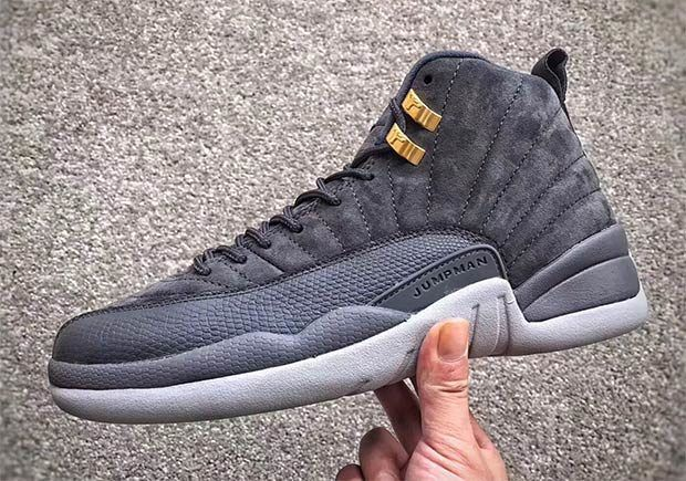 "Air Jordan 12 Retro ""Dark Grey"" Releases In November"