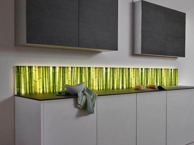 Kuchenruckwand Mit Motiv Led Kuchenruckwand Wand Glasscheiben