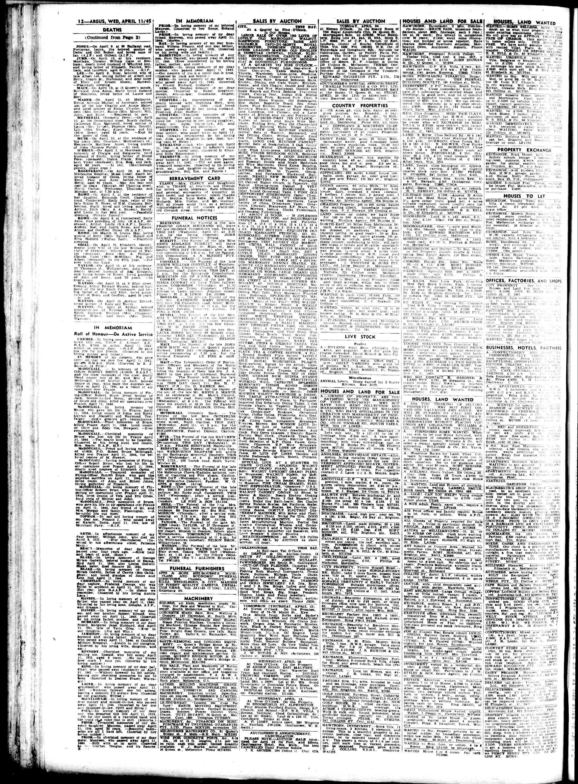 Argus melbourne vic australian newspapers myheritage discover your ancestry search birth marriage and death certificates census records immigration lists and other records all in one family search aiddatafo Choice Image