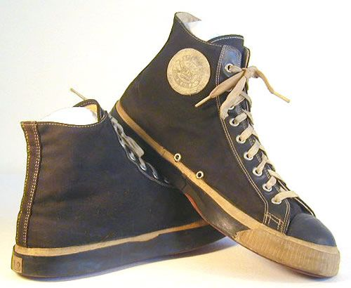 Old Spalding Running Shoes