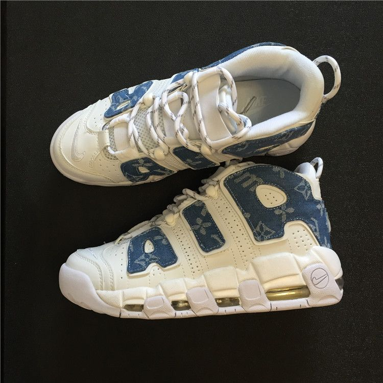 competitive price 8a183 9c0b1 Louis vuitton x Supreme x Nike Air More Uptempo 32