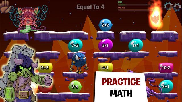 Monster Math 2 Educational Math Games For Kids By Makkajai Edu Tech Private Limited Math Games For Kids Math Apps Educational Math Games