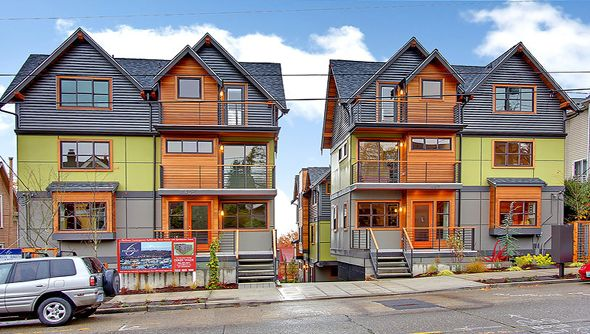 Seattle Townhomes The Seattle Condo Blog Seattle Condos And Lofts Color Pinterest