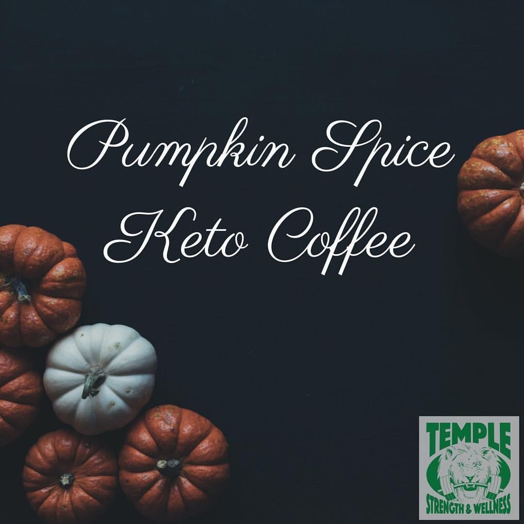 #pumpkinspiceketocoffee