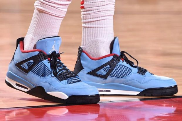 184e1049f755b5 P.J. Tucker Wore the Travis Scott x Air Jordan 4