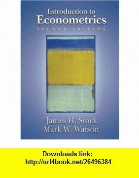 Introduction to Econometrics, 2nd Edition (Addison-Wesley