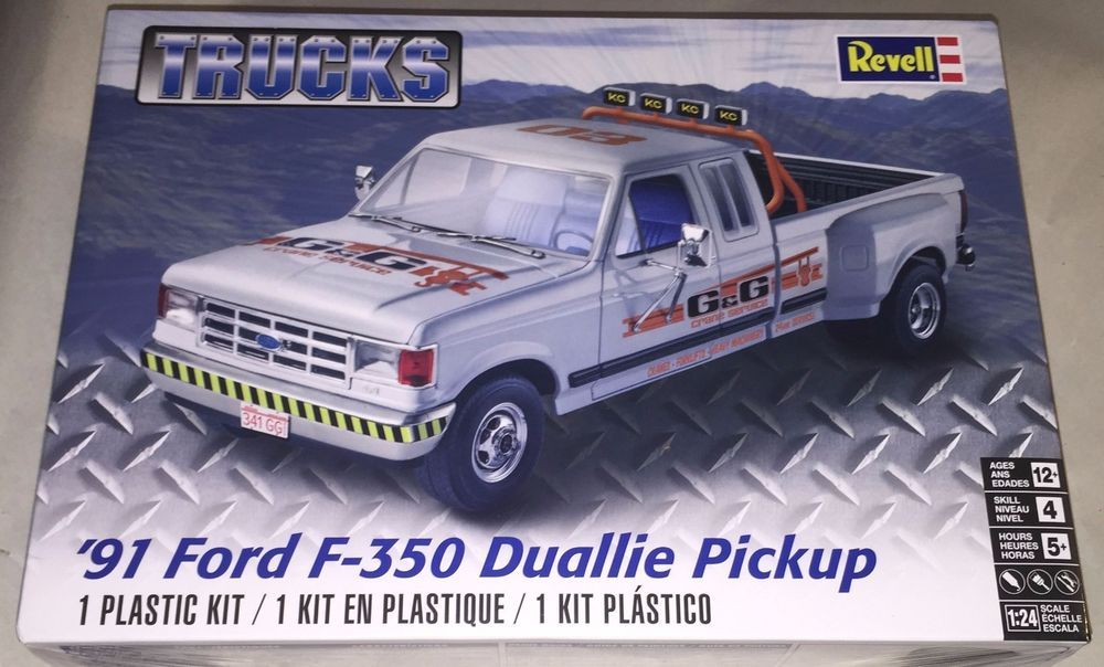 Revell Trucks  Ford F  Duallie Google Search