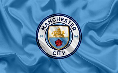 Download Wallpapers Manchester City Football Club New Emblem