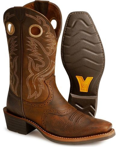 ae090c1c401 Ariat Men's Heritage Roughstock Western Boots - Narrow Square Toe in ...
