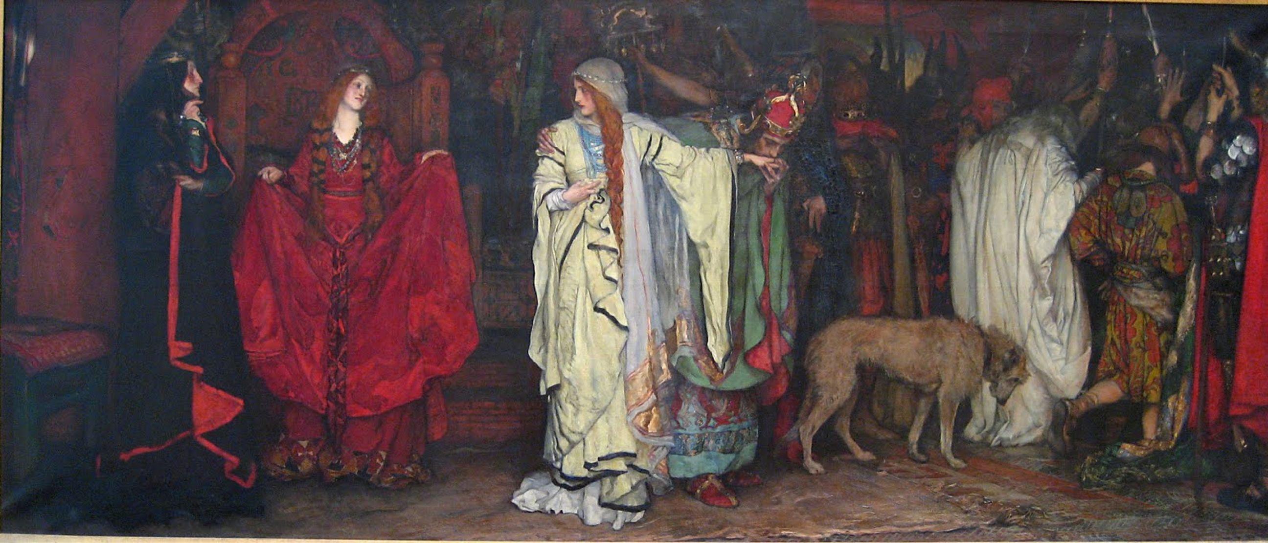 Edwin austin abbey sketch metropolitan museum of art