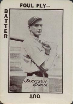 1913 Tom Barker Game Wg6 53 Shoeless Joe Jackson Front