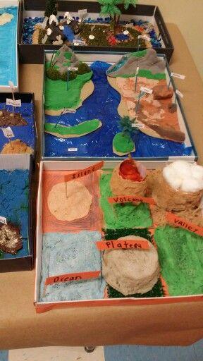 major landforms of the earth class 6 pdf