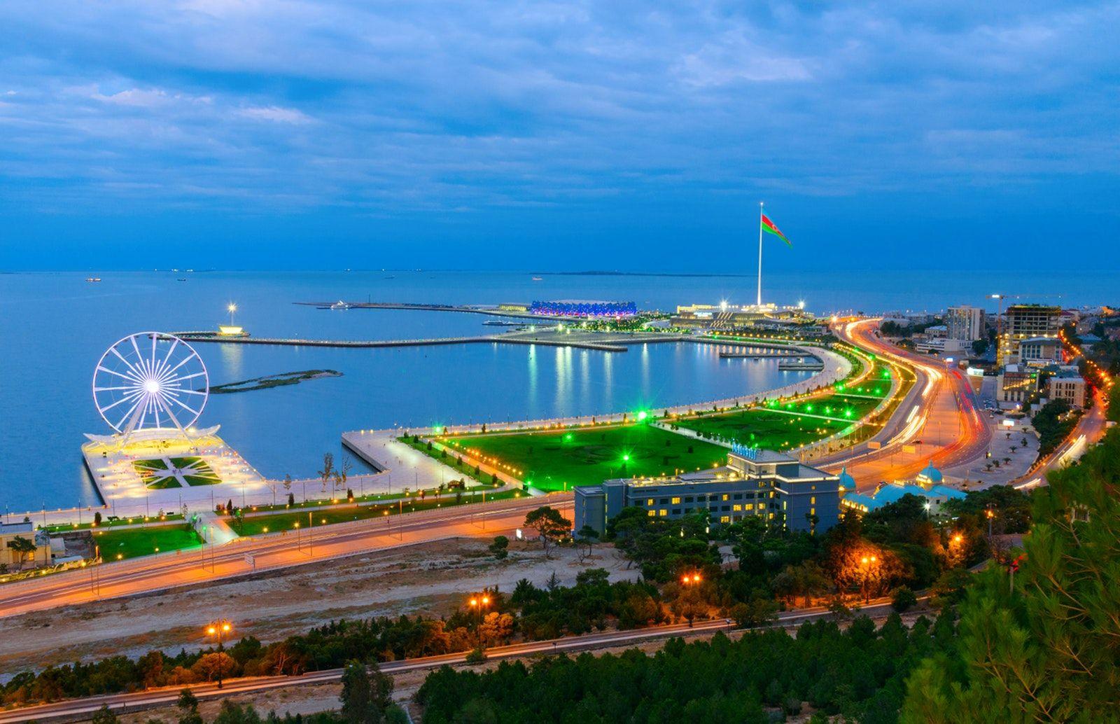 Baku City Of Parks Baku City Baku City