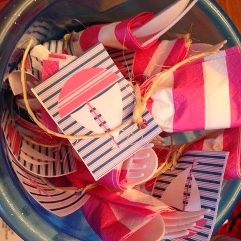 sugar & spice & everything [mostly] nice!: party: anchors away baby shower