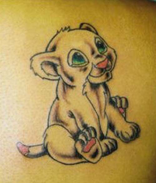 8fe0d8b61 baby-leo-zodiac-tattoos-tattoo-design | Tattoos Ideas | Lion cub ...