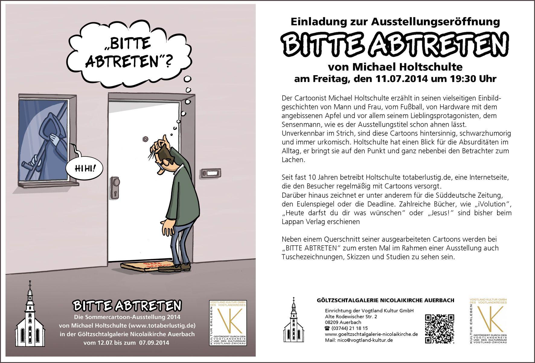 Ausstellung des Sommerakademisten Michael Holtschulte