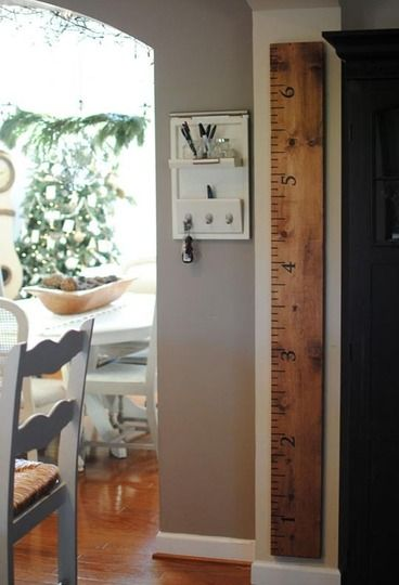 Growth chart or just neat decoration.