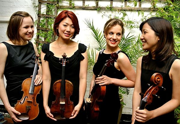 Meridian Strings String Quartet Female Classical Music For Events Weddings