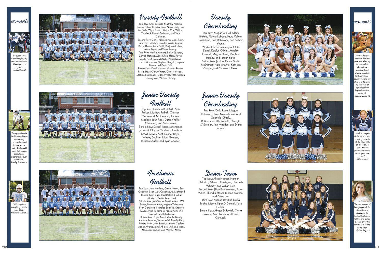 The Grenadier Yorktown High School Arlington Heights Va Jostens Lookbook2016 Ybklove Teaching Yearbook Yearbook Layouts Yearbook Design