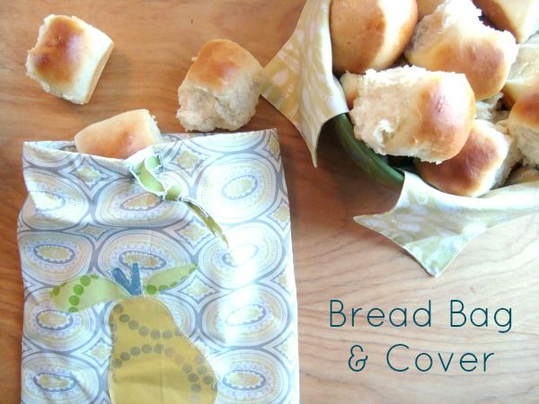 Warm Bread Bag and Cover Tutorial