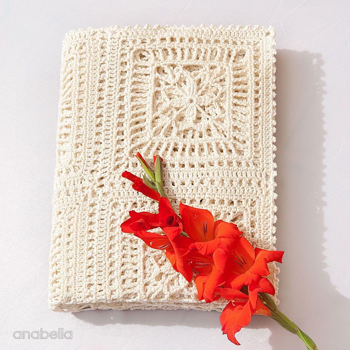 Anabelia craft design: Lily crochet blanket, pattern | Crochet ...