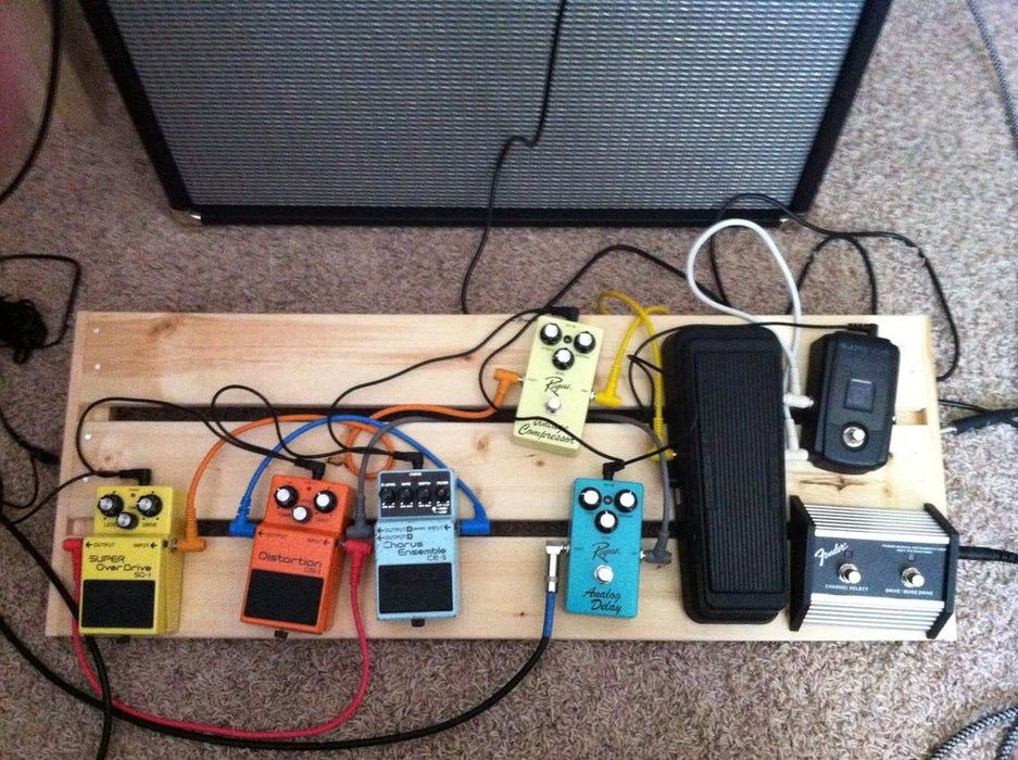 Guitar Pedal Board UNDER $40!!!
