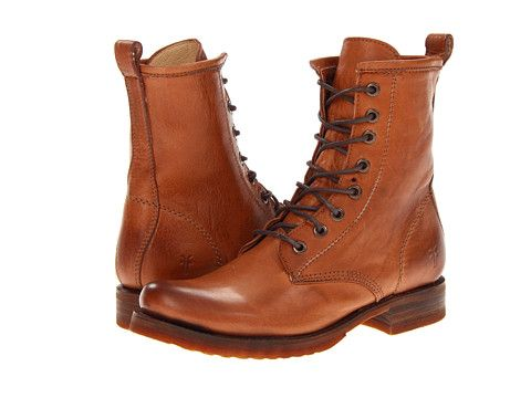 f08591dc0e6 Frye Veronica Combat Whiskey Soft Vintage Leather - Zappos.com Free ...